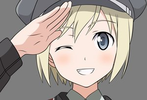 Rating: Safe Score: 18 Tags: erica_hartmann strike_witches transparent vector User: RyuZU