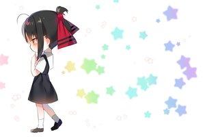 Rating: Safe Score: 38 Tags: black_hair blush chibi dress kaguya-sama_wa_kokurasetai_~tensai-tachi_no_renai_zunousen~ red_eyes school_uniform shinomiya_kaguya short_hair socks stars urim_(paintur) white User: otaku_emmy