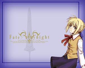 Rating: Safe Score: 3 Tags: artoria_pendragon_(all) fate_(series) fate/stay_night saber school_uniform User: Oyashiro-sama