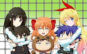 Rating: Safe Score: 144 Tags: chitanda_eru crossover doll gekkan_shoujo_nozaki-kun hyouka kirisaki_chitoge nisekoi sakura_chiyo tksmk3custom User: Freenight