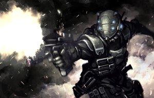 Rating: Safe Score: 198 Tags: armor fire gun hellshock mask original weapon User: TommyGunn
