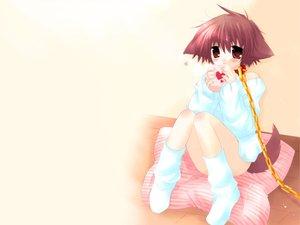 Rating: Safe Score: 15 Tags: chain collar doggirl hinata_(pure_pure) pure_pure sakurazawa_izumi socks User: Oyashiro-sama