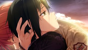Rating: Safe Score: 25 Tags: all_male angel_beats! game_cg key male na-ga naoi_ayato otonashi_yuzuru sunset wet User: Tensa
