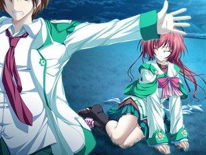 Rating: Safe Score: 15 Tags: game_cg magus_tale red_hair school_uniform seera_finis_victoria tenmaso whirlpool User: Oyashiro-sama