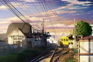 Rating: Safe Score: 54 Tags: building city clouds grass hankachi_(okayama012) nobody original scenic sky stairs train tree User: RyuZU