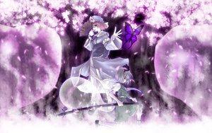 Rating: Safe Score: 48 Tags: katana konpaku_youmu myon saigyouji_yuyuko sword touhou weapon User: Oyashiro-sama