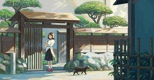 Rating: Safe Score: 15 Tags: animal cat fjsmu shameimaru_aya touhou User: Dreista