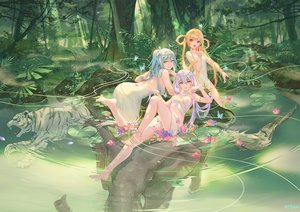 Rating: Safe Score: 145 Tags: animal apple ass atdan barefoot bird blonde_hair blue_eyes blue_hair butterfly cangqiong crossover dress elephant flowers food forest fruit long_hair owl purple_eyes purple_hair shian_(synthv) synthesizer_v tiger tree twintails vocaloid water xingchen yellow_eyes User: BattlequeenYume