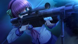 Rating: Safe Score: 69 Tags: angel_beats! game_cg gun key na-ga nakamura_yuri weapon User: Tensa