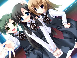 Rating: Safe Score: 10 Tags: blush game_cg harukazedori_ni_tomarigi_wo_2nd_story orihime_akari seifuku User: korokun