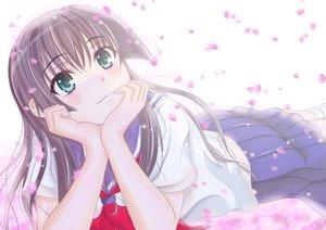 Rating: Safe Score: 137 Tags: black_hair blush green_eyes h.i.t_(59-18-45) long_hair petals saten_ruiko school_uniform skirt to_aru_kagaku_no_railgun to_aru_majutsu_no_index User: Freenight