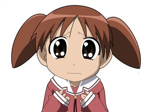 Rating: Safe Score: 17 Tags: azumanga_daioh brown_eyes brown_hair mihama_chiyo school_uniform vector white User: Oyashiro-sama
