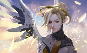 Rating: Safe Score: 25 Tags: h@ge mercy_(overwatch) overwatch realistic User: FormX