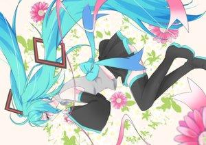 Rating: Safe Score: 17 Tags: hatsune_miku long_hair twintails vocaloid User: luckyluna