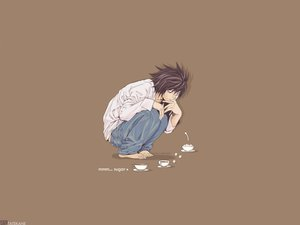 Rating: Safe Score: 16 Tags: all_male brown death_note l male User: Oyashiro-sama