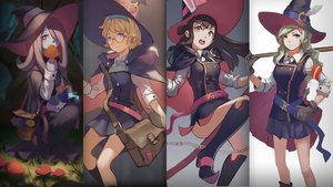 Rating: Safe Score: 82 Tags: diana_cavendish doren hat kagari_atsuko little_witch_academia lotte_yanson sucy_manbavaran witch witch_hat User: FormX