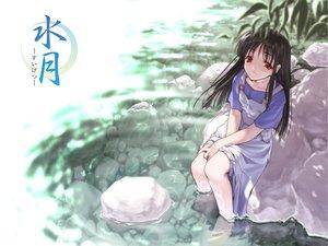 Rating: Safe Score: 7 Tags: makino_nanami suigetsu water User: Oyashiro-sama