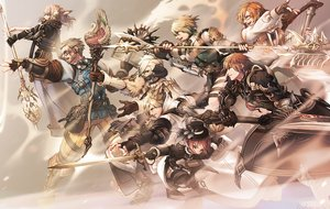 Rating: Safe Score: 21 Tags: animal_ears armor au_ra blonde_hair book boots breasts brown_eyes brown_hair catgirl cleavage final_fantasy final_fantasy_xiv glasses gloves hat horns hyur instrument lalafell long_hair male mihira_(tainosugatayaki) miqo'te short_hair staff sword tail weapon white_hair User: SciFi