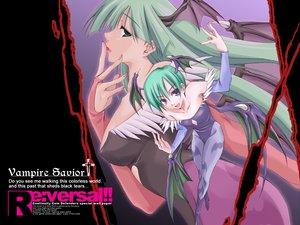 Rating: Safe Score: 44 Tags: darkstalkers lilith_(darkstalkers) morrigan_aensland vampire_savior User: Oyashiro-sama