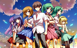 Rating: Safe Score: 65 Tags: blonde_hair blue_eyes blue_hair brown_hair clouds dress furude_rika green_hair group hanyuu headband higurashi_no_naku_koro_ni houjou_satoko logo long_hair maebara_keiichi matsuzaki_yutaka pantyhose ponytail purple_eyes purple_hair ryuuguu_rena school_uniform short_hair skirt sky sonozaki_mion sonozaki_shion tie watermark User: kowarenai