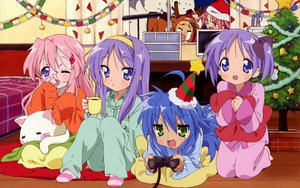 Rating: Safe Score: 57 Tags: blue_eyes blue_hair blush christmas game_console green_eyes hiiragi_kagami hiiragi_tsukasa izumi_konata kogami_akira long_hair lucky_star pink_hair purple_hair shiraishi_minoru stars takara_miyuki User: Oyashiro-sama