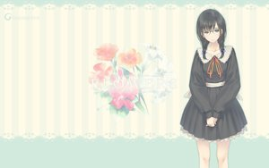 Rating: Safe Score: 59 Tags: black_hair braids flowers_(game) glasses green_eyes hanabishi_rikka innocent_grey long_hair school_uniform sugina_miki User: Wiresetc