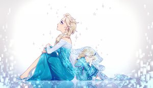 Rating: Safe Score: 126 Tags: elsa_(frozen) frozen_(disney) kazari_tayu User: FormX