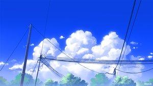 Rating: Safe Score: 20 Tags: clouds mclelun original sky watermark User: RyuZU