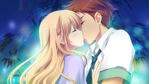 Rating: Safe Score: 35 Tags: astraythem game_cg ginta kiss sakurazuka_natsuki User: Maboroshi