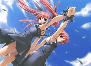 Rating: Safe Score: 82 Tags: hashimoto_takashi kousaka_alice kousaka_maria loli scan suigetsu twins User: Xtea