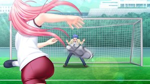 Rating: Safe Score: 23 Tags: angel_beats! ball game_cg hinata_hideki male na-ga soccer sport yui_(angel_beats!) User: Tensa