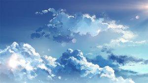 Rating: Safe Score: 68 Tags: clouds nobody original sky waifu2x yuu_knmy User: RyuZU