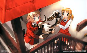 Rating: Safe Score: 1 Tags: hidamari_sketch miyako yuno User: 秀悟