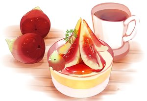 Rating: Safe Score: 18 Tags: animal bird chai_(artist) drink food fruit original polychromatic signed User: otaku_emmy