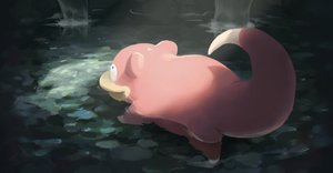 Rating: Safe Score: 17 Tags: na_(oagenosuke) nobody pokemon shade slowpoke water waterfall User: otaku_emmy