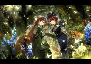 Rating: Safe Score: 63 Tags: 2girls bicolored_eyes rozen_maiden souseiseki suiseiseki twins ultimate_asuka User: aoyoru