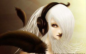 Rating: Safe Score: 21 Tags: gray_hair headphones red_eyes signed tagme User: mikucchi