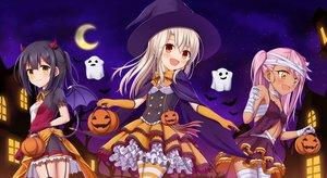 Rating: Safe Score: 33 Tags: chloe_von_einzbern fate/kaleid_liner_prisma_illya fate_(series) halloween illyasviel_von_einzbern loli miyu_edelfelt moon morokoshi_(tekku) User: kyxor