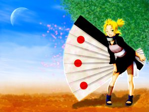 Rating: Safe Score: 18 Tags: blonde_hair dress fan naruto temari User: Oyashiro-sama