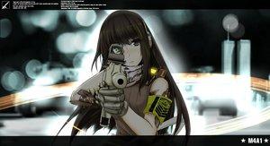 Rating: Safe Score: 148 Tags: anthropomorphism blush brown_eyes brown_hair girls_frontline gloves gun long_hair m4a1_(girls_frontline) mag weapon User: Flandre93