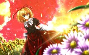 Rating: Safe Score: 59 Tags: blonde_hair blue_eyes flowers medicine_melancholy nekominase touhou User: Zolxys