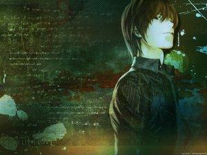 Rating: Safe Score: 14 Tags: all_male death_note male yagami_light User: Oyashiro-sama