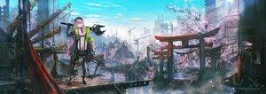 Rating: Safe Score: 46 Tags: building city industrial original scenic tomok1 torii User: FormX