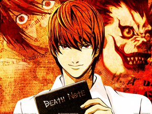 Rating: Safe Score: 7 Tags: all_male death_note l male orange ryuk yagami_light User: Oyashiro-sama