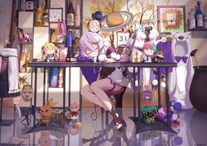 Rating: Safe Score: 66 Tags: chibi doubutsu_no_mori horns long_hair minecraft nijisanji pokemon reflection rindou_mikoto shippitsu sleeping super_mario white_hair User: BattlequeenYume