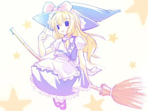 Rating: Safe Score: 20 Tags: kirisame_marisa sketch touhou witch User: Oyashiro-sama
