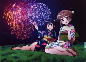 Rating: Safe Score: 29 Tags: fireworks japanese_clothes shakugan_no_shana shana yoshida_kazumi yukata User: Oyashiro-sama
