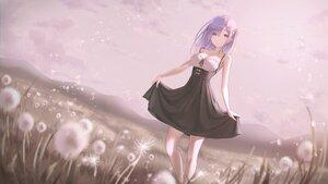 Rating: Safe Score: 99 Tags: blush breasts cleavage dress flowers long_hair marinesnow rem_(re:zero) re:zero_kara_hajimeru_isekai_seikatsu summer_dress User: Arsy
