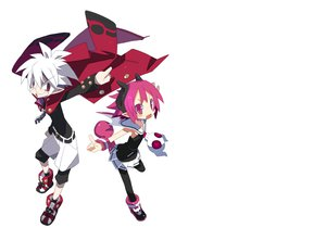 Rating: Safe Score: 28 Tags: 16ban disgaea glasses horns mao_(disgaea) pantyhose photoshop pink_eyes pointed_ears raspberyl red_eyes skirt white white_hair User: Katsumi