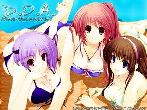 Rating: Safe Score: 48 Tags: ayane bikini dead_or_alive hitomi iizuki_tasuku kasumi swimsuit User: Oyashiro-sama
